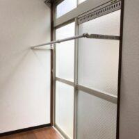 グリーンコーポ若葉1階【1K】フレクリーン(物干し)