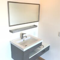 グランドヒルズB【1LDK】人口大理石を使用した洗面台