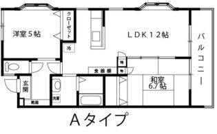 パークヒル【2LDK】間取図