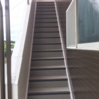 グリーンコーポ若葉2階【1K】共用階段