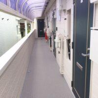 グリーンコーポ若葉2階【1K】共用廊下